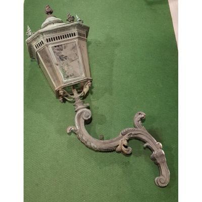 Lanterne En Bronze XIX