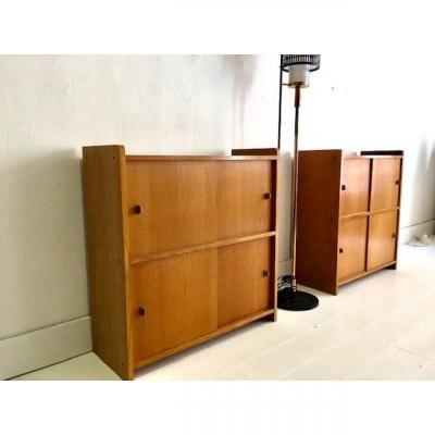 2 Storage Cabinets 1950