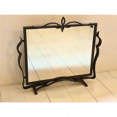 Wrought Iron Mirror 1930