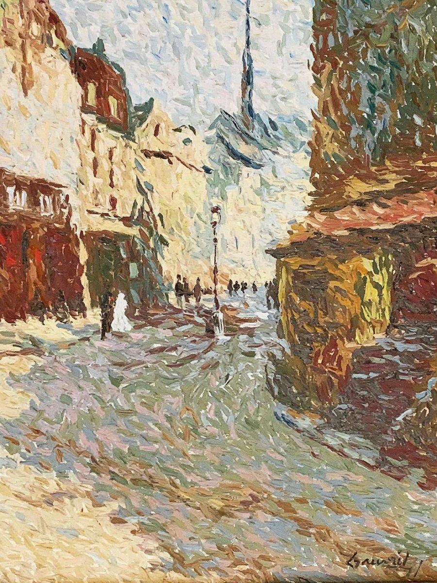 """Jean-Jacques Gauvrit """"Paris - La rue Mouffetard-photo-1"""