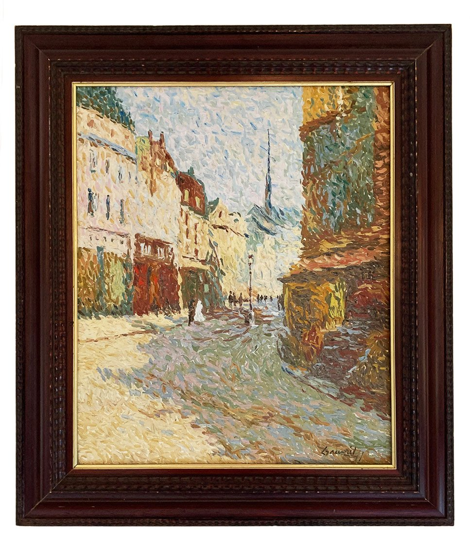 """Jean-Jacques Gauvrit """"Paris - La rue Mouffetard"""