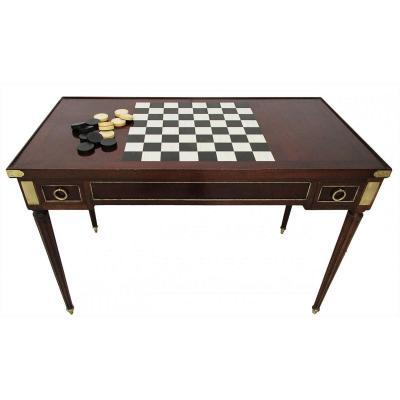 Table à Jeux époque XVIIIème Style Louis XVI