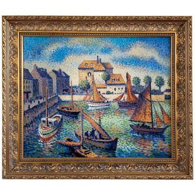 """Maxime Lucien Roubinet """"Bassin de Honfleur"""