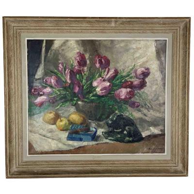 """Jehan Berjonneau """"Les tulipes"""