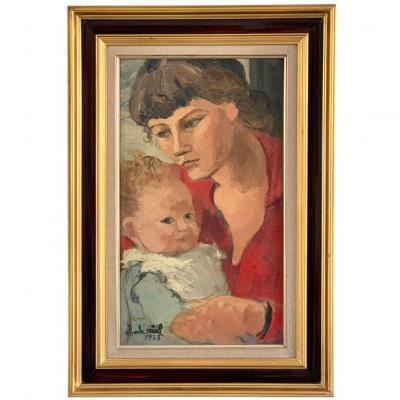 "Charles Real ""La Maternité"