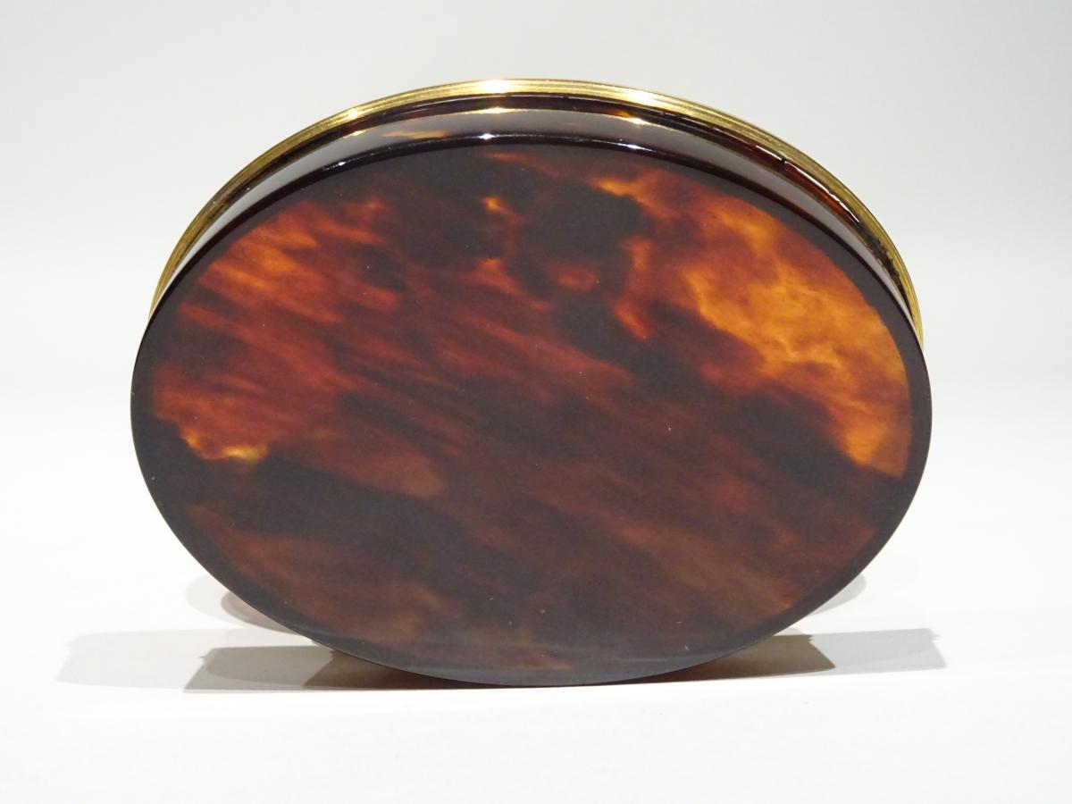 Great Snuffbox Made In Tortoishell Datable About 1740-photo-4