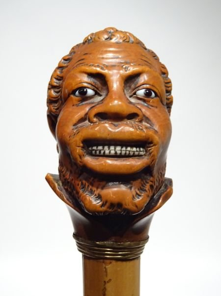 Great Cane Representing An African Man