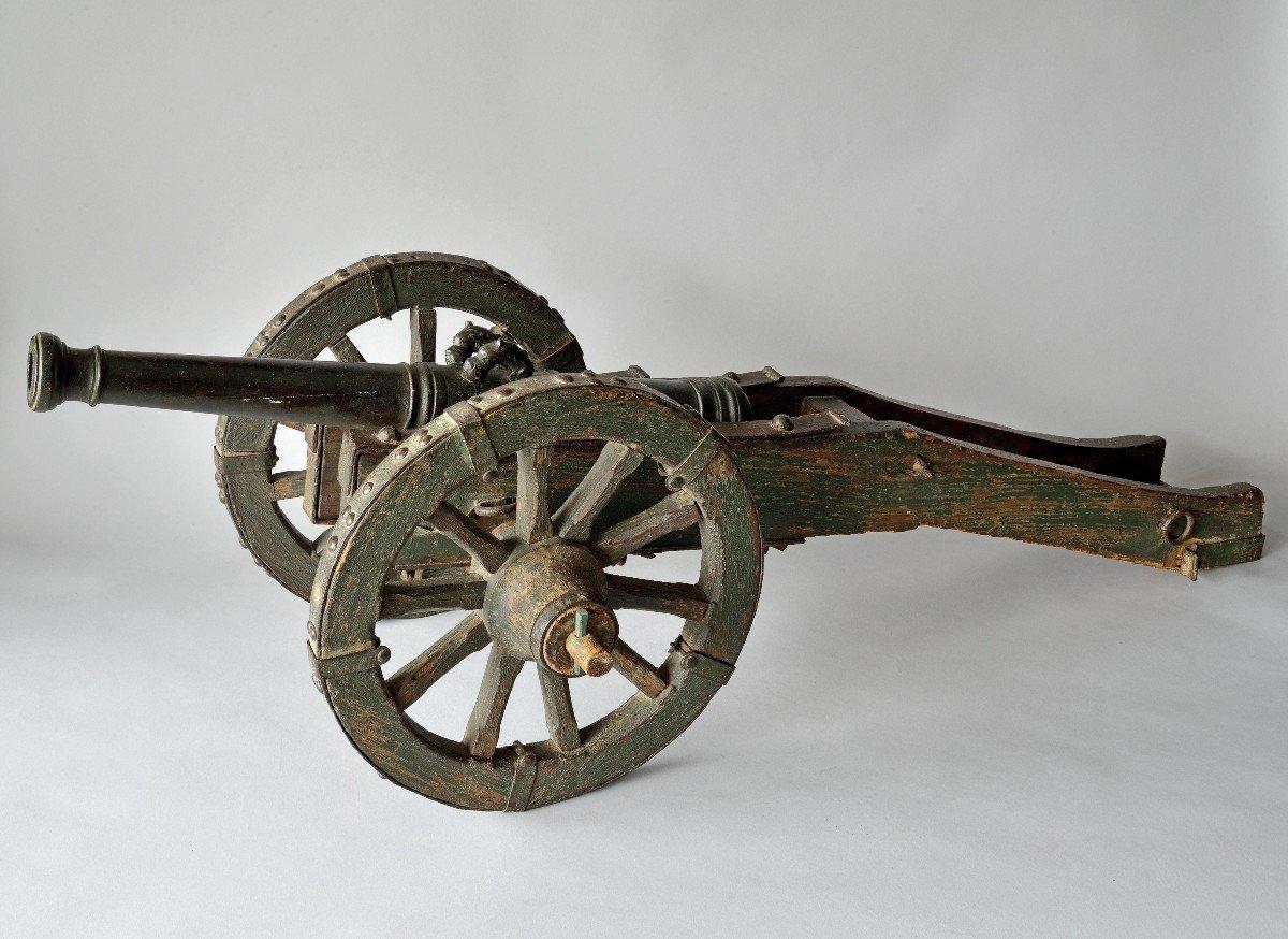 Canon Maquette d'Artillerie Datable Vers 1700/1710