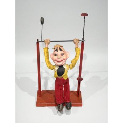Acrobate Représentant Un Clown