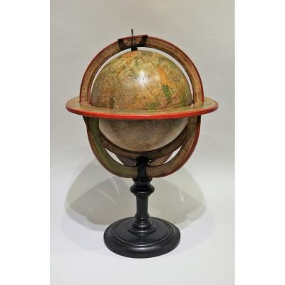 Celestial Globe Signed Fortin A Paris For The Year 1780