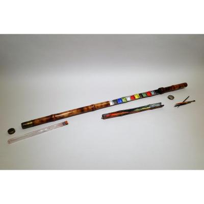 Gadget Cane For Watercolor Artist With Brushes, Palette And Water Container