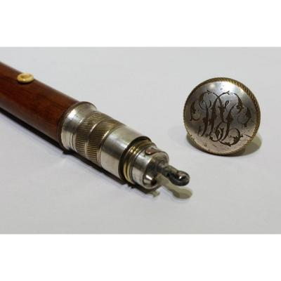 Cane With Lighter System Made Circa 1900/1920