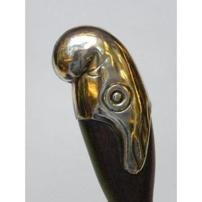 Collection Cane With Handle In The Shape Of A Phrygian Cap