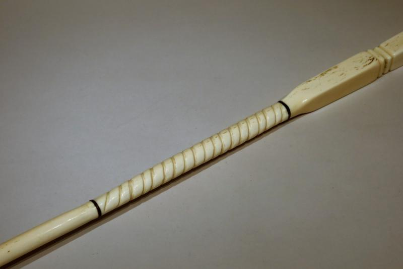 Collection Cane Composed Of Six Pieces Of Ivory Datable Around 1900/1910-photo-2