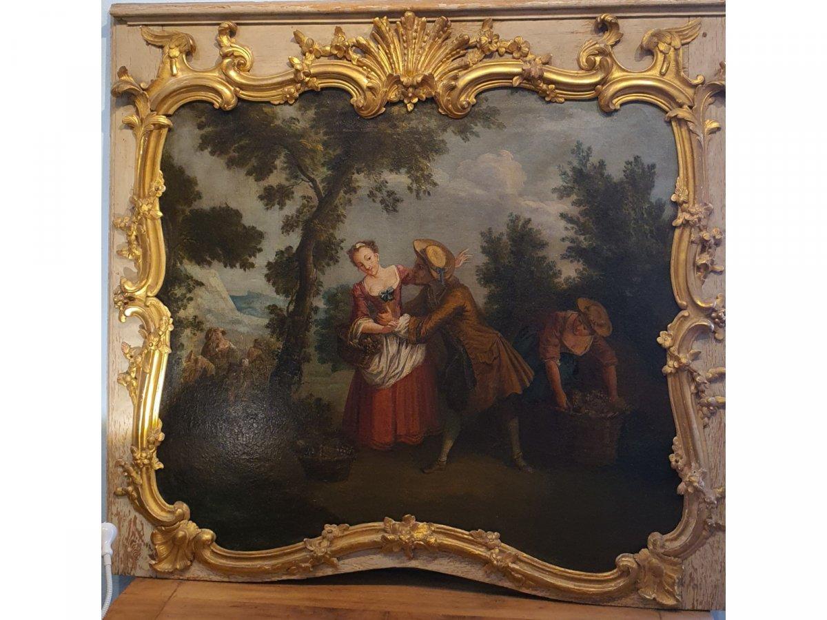Haut De Porte Louis XV