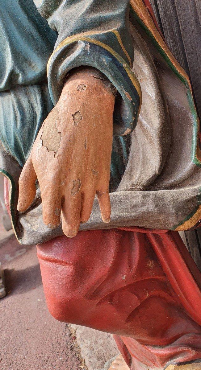 Paire De Statues Religieuses -photo-1