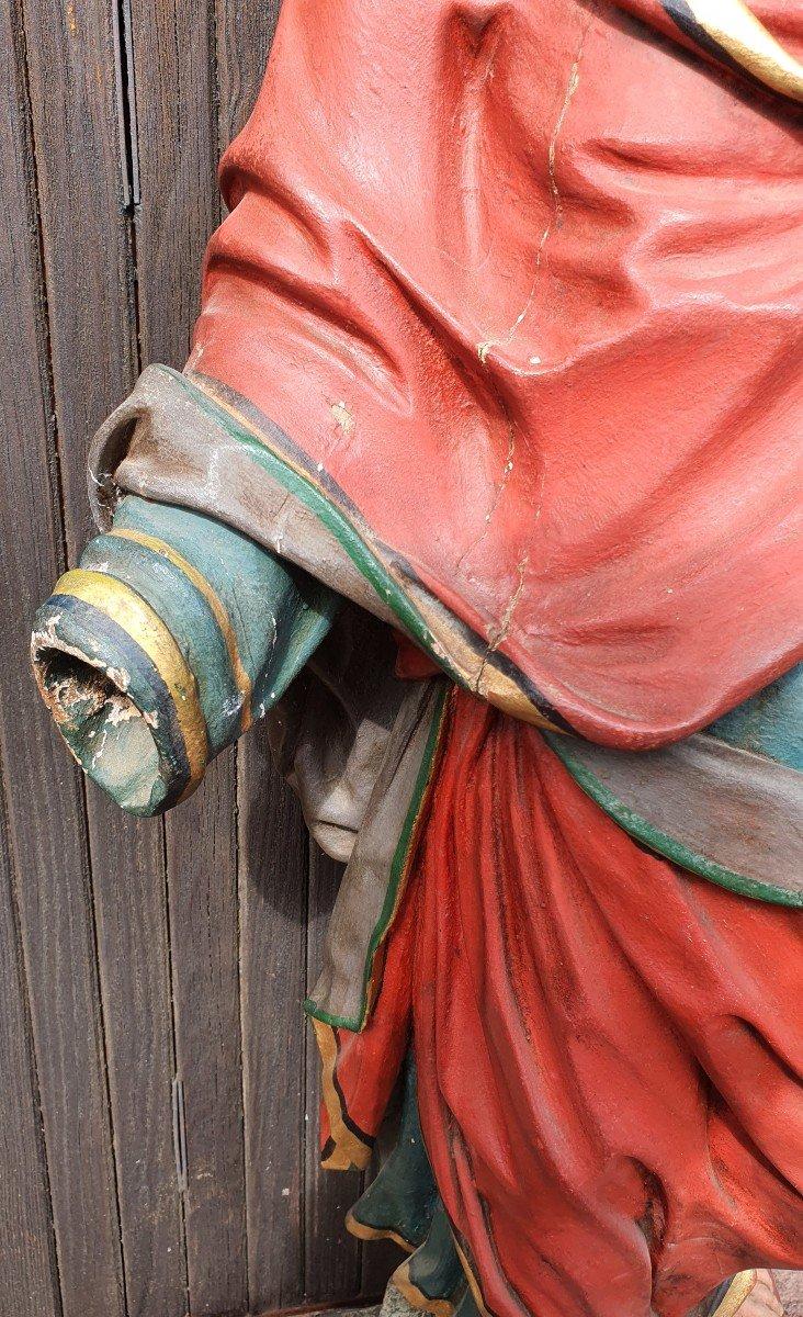 Paire De Statues Religieuses -photo-3