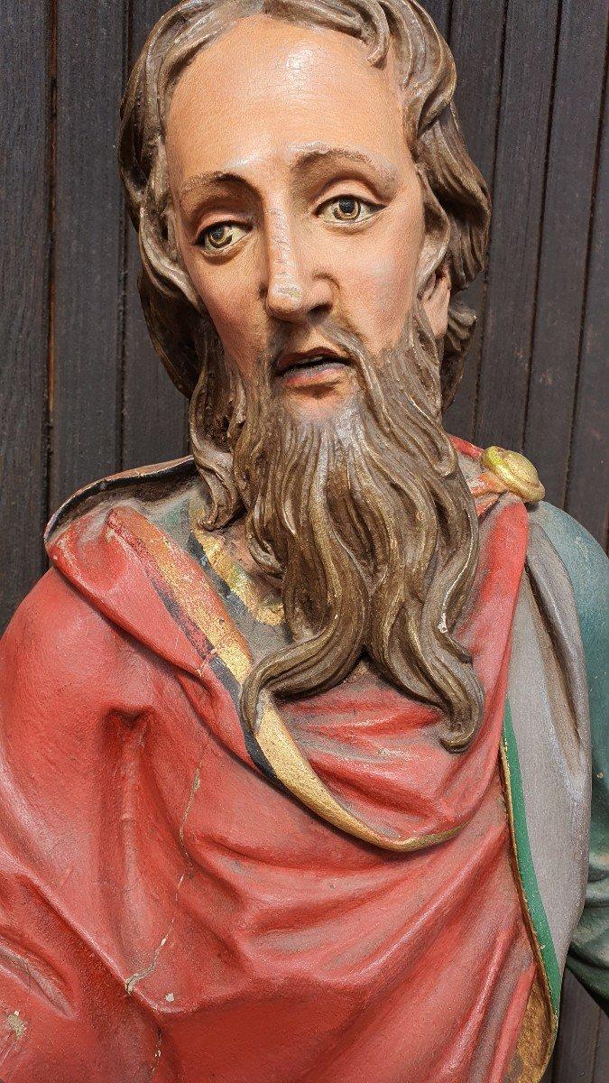 Paire De Statues Religieuses -photo-4
