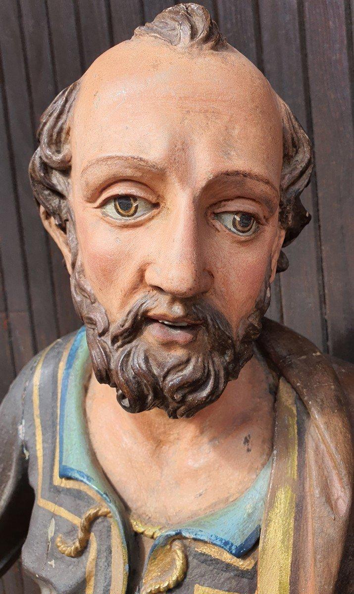 Paire De Statues Religieuses -photo-5