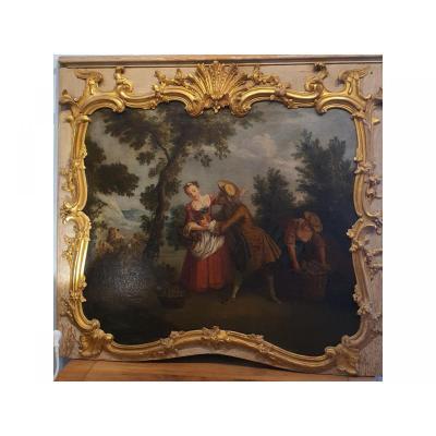 Louis XV Door Top