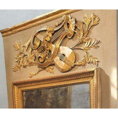 Large Trumeau Louis XVI Period
