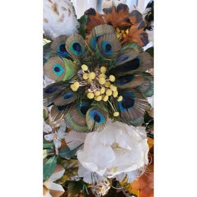 Bouquet De Fleurs En Plumes