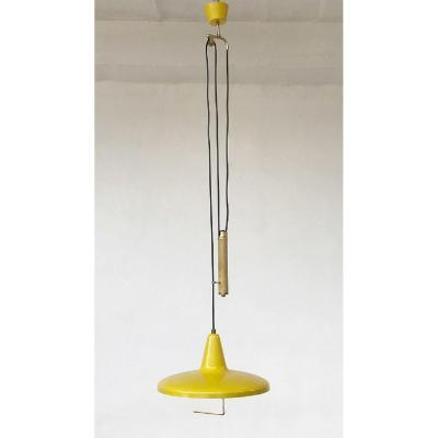 Lampe à Suspension Réglable En Hauteur Avec Contrepoids