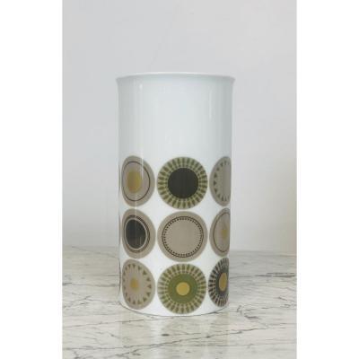 Vase En Porcelaine Allemande, Thomas