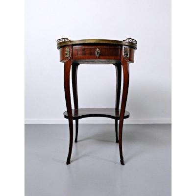 French Pedestal Table, 18th Century