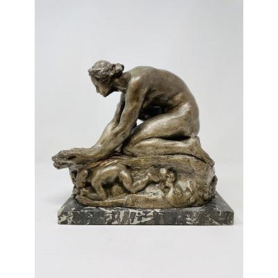 Georges Van De Voorde (1878-1970) - Bronze Sculpture
