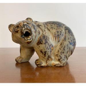Ours En Ceramique Par Knud Kyhn - Denmark 1950