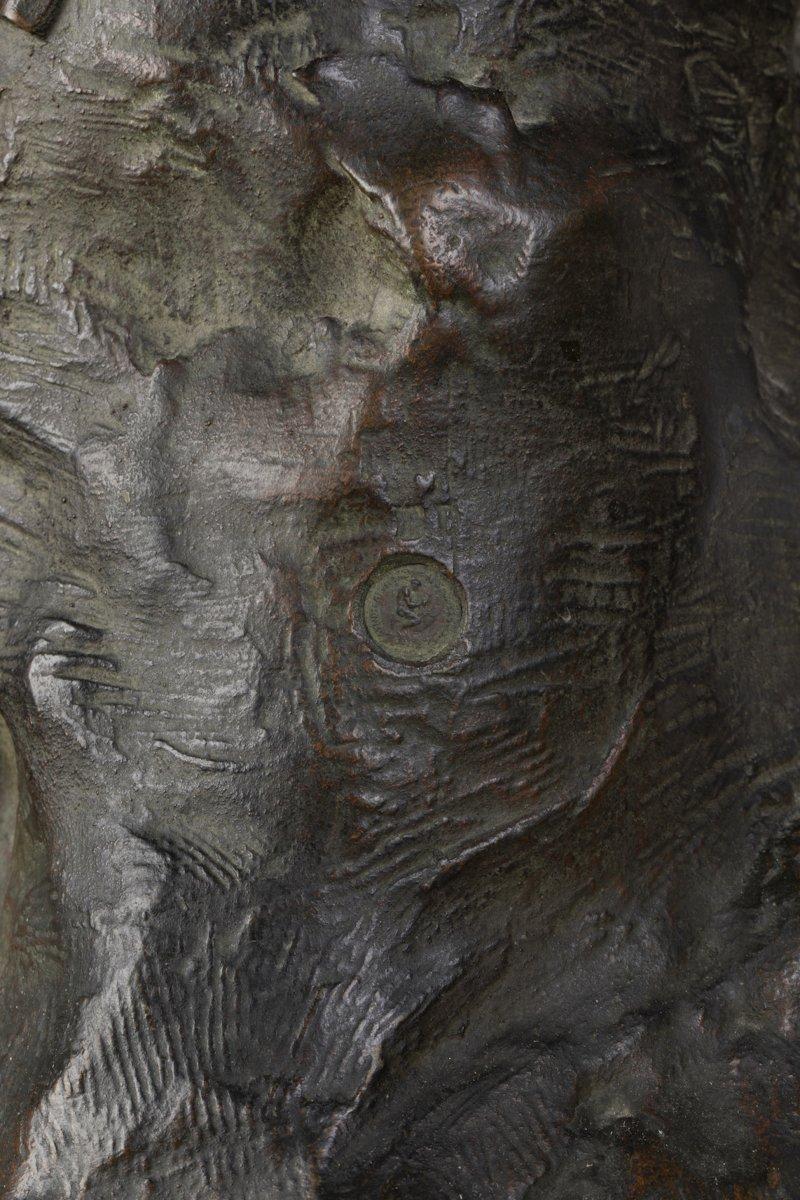 """A French 19th Century Bronze """"le Repos De Venus"""" Signed Lucas Madrassi (1849-1919).-photo-2"""