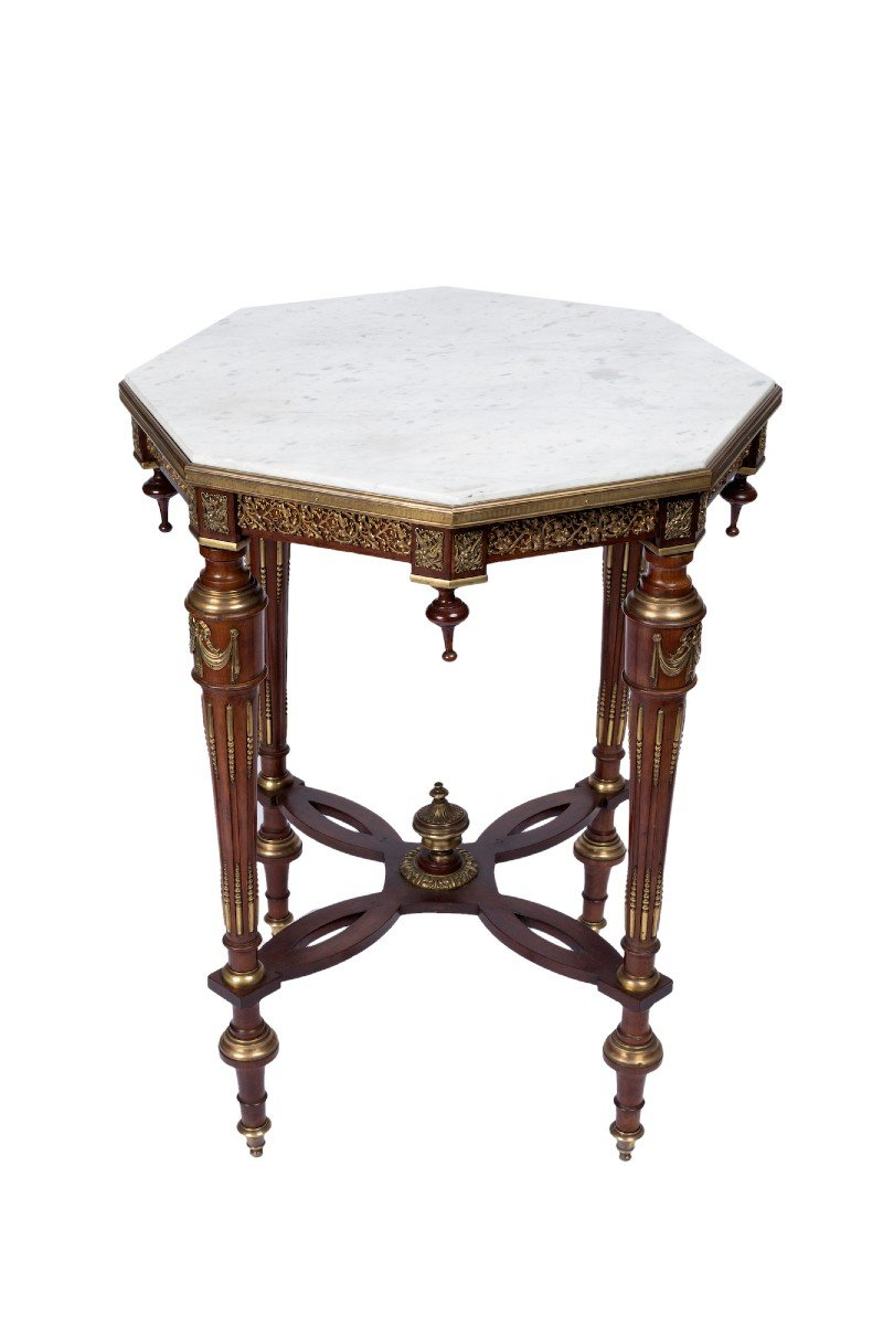 A Charming French Late 19th Century Orientaliste Gueridon