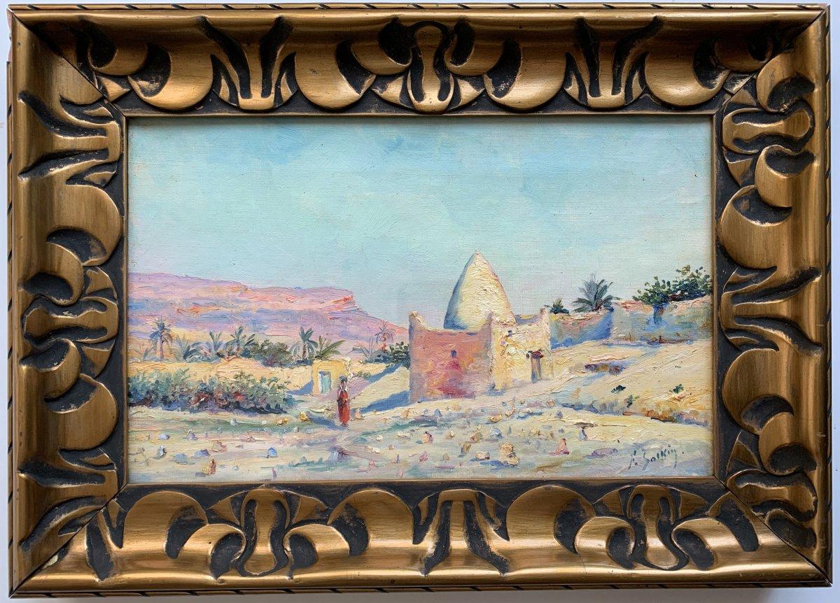 Fernand Salkin (1862-1937) - Tomb Of A Marabout-photo-2