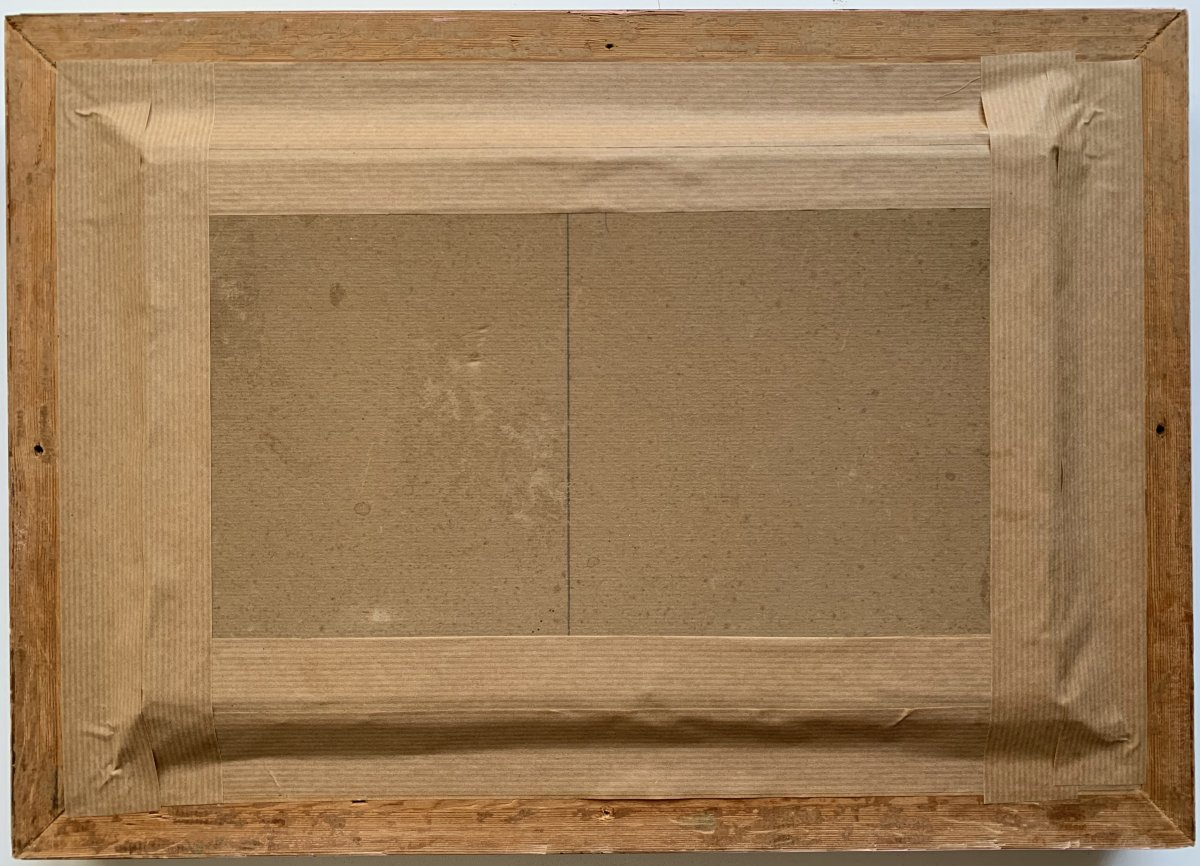 Fernand Salkin (1862-1937) - Tomb Of A Marabout-photo-1