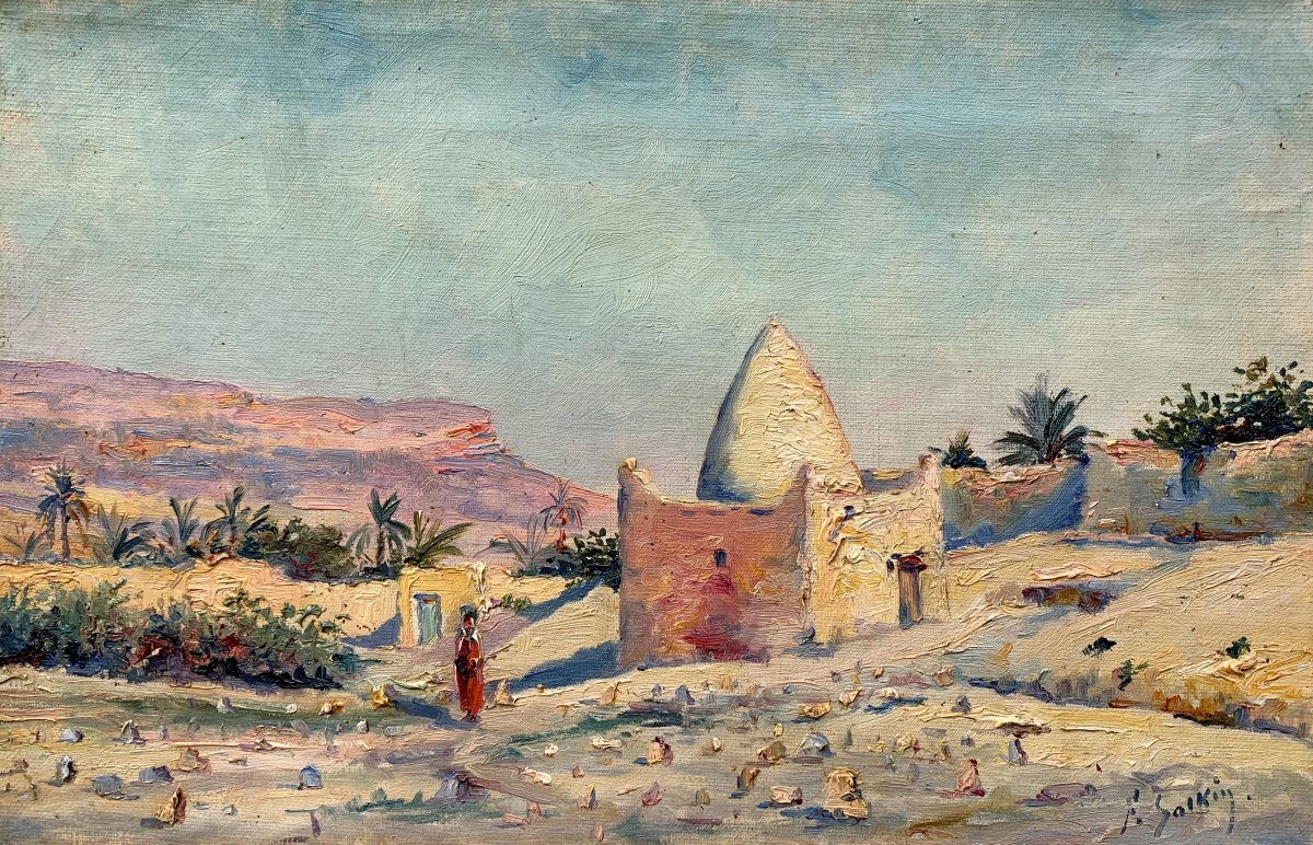 Fernand Salkin (1862-1937) - Tombeau d'un Marabout