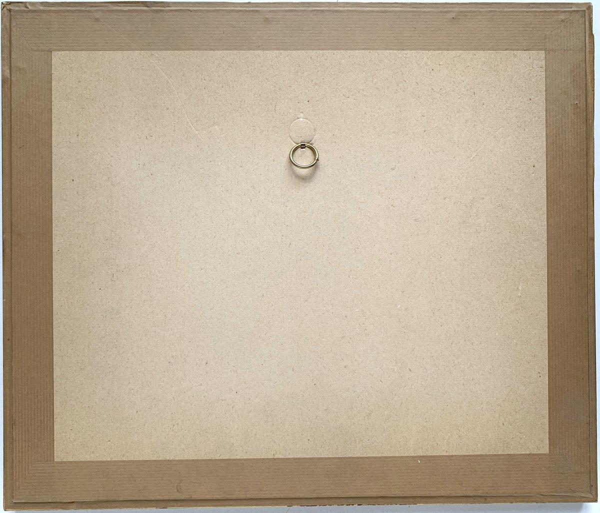 Henri Goetz (1909-1989) - Abstract Composition - Aquatint-photo-3