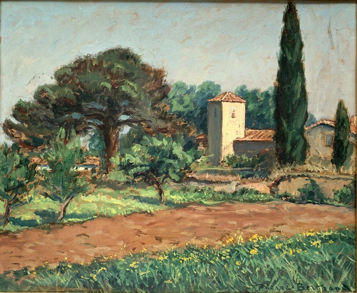 Pierre Bertrand (1884-1975) - Landscape Of Provence - Oil