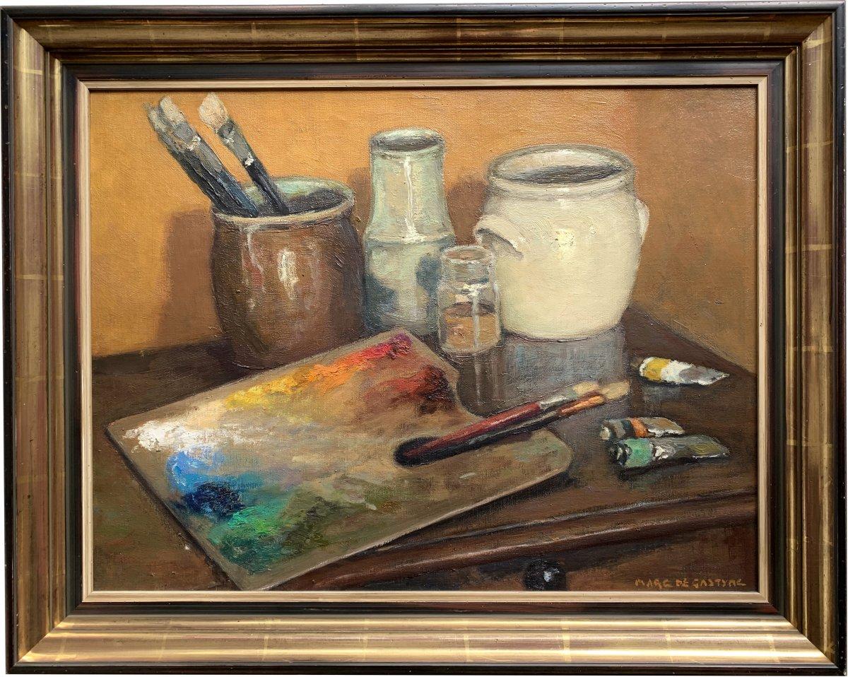 Marco De Gastyne (1889-1982) - The Painter's Palette - Prix De Rome In 1911-photo-2