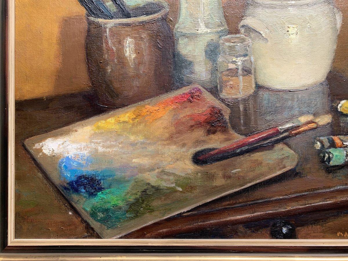 Marco De Gastyne (1889-1982) - The Painter's Palette - Prix De Rome In 1911-photo-4
