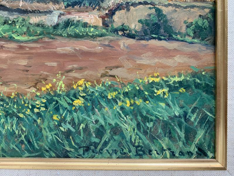 Pierre Bertrand (1884-1975) - Landscape Of Provence - Oil-photo-4