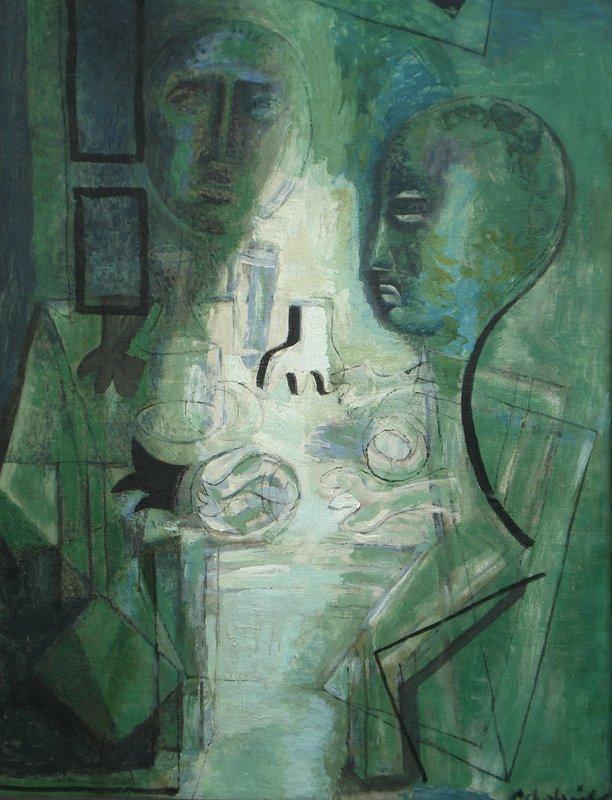 Tableau Cubiste Par Pierre Charbonnier