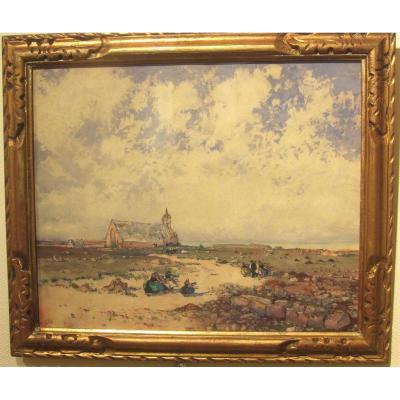 Notre Dame De La Joie Bretagne Par Ernest Guérin