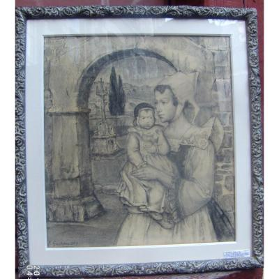 Maternité Par Emile Gastemans