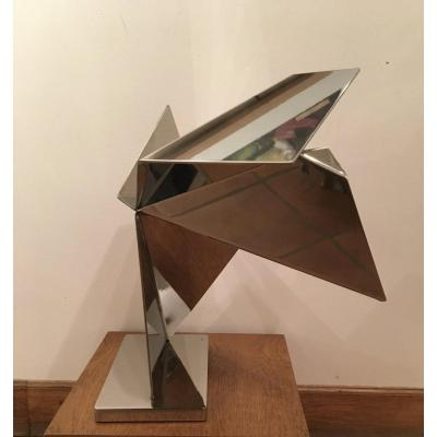 Sculpture Abstraite par Rosette Bir