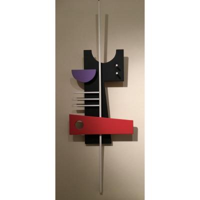 Sculpture Abstraite Par Jean Branchet
