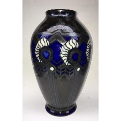 Odetta Quimper Brittany Vase
