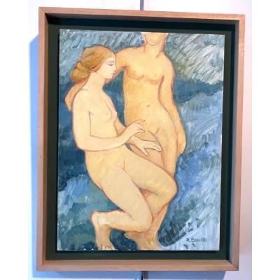 Nus  ( nu ) féminins Par Robert Bouille
