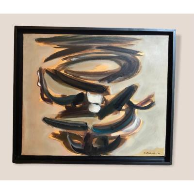 Tableau Abstrait Par James Pichette