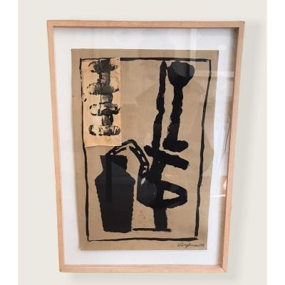 Oeuvre Abstraite Par Hung Rannou